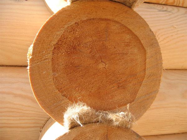 джут в деревянном домостроении
