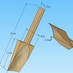 Конопатка треугольной формы